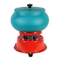 Wholesale agate barrel beads resale online - Ball bead type polishing machine bracelet vibration polishing barrel machine agate jade jade processing equipment