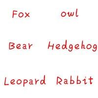 ingrosso coniglio del castoro-20 cm foresta animale peluche coniglio gufo volpe Beaver riccio orso lince farcito slodziaki banda slodziakow natale regalo di compleanno
