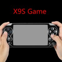 Wholesale games mp3 player resale online - X9S SUP Handheld Video Game Console inch Screen GB Classic SFC NES GBA NEOGEO CPS Simulato Game Player Camera TV Out MP4 MP3 E Book