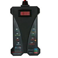 Wholesale led voltmeter 12v resale online - Motopower MP0514A V Digital Battery Tester Voltmeter Charging System Analyzer LCD Display LED Indication Black Rubber Paint