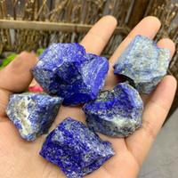 orijinal değerli taşlar toptan satış-100g Doğal Lapis Lazuli Ham Taş Kaba Kuvars Mineral Örneği Orijinal Taşlar Şifa