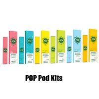 dhl kalem toptan satış-En Yeni POP Tek Cihaz Pod Başlangıç Seti 280mAh Pil 1.2ml Kartuş Vape Kalem Setleri DHL Hızlı Kargo boşaltın