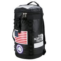 Wholesale mens outdoor shoulder bags for sale - Group buy New Designer Travel Duffel Bags Mens Outdoor Backpack School Double Shoulder Bags Stuff Sacks Sports Backpacks