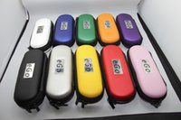 ego t mt3 evod kits großhandel-Rauchen Vape Zipper Bag E Cig Ego Tasche CE4 Start-Kit CE5 MT3 EGO-T EVOD Tragetasche mit Reißverschluss Pocket Electronic Cigarette Accessories