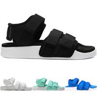 kapalı yürüme toptan satış-Yeni Tasarımcı TN Artı Terlik Yaz Plaj flip flop Siyah Beyaz Rahat Sandalet W Ayakkabı Kadınlar Için Kapalı kaymaz Erkek Spor Loafer Yürüyüş