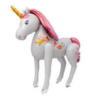 ingrosso palloncino di elio di nozze-1 PZ 106 * 116 CM Enormi Palloncini Foglio di Alluminio Unicorno Giocattoli Per Bambini Elio Matrimonio Palloncino Compleanno Decor Partito Animale Forniture Unicorno