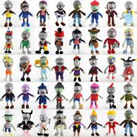 juguetes zombie para niños al por mayor-40 estilos de verduras muñecos de peluche de los juguetes 30cm clásico juego de las muñecas del zombi juguetes de peluche de los niños divertidos de simulación regalo L407