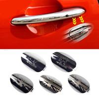 ingrosso porta della porta-Union Jack Car Esterno lato conducente Maniglia sportello Coperchio foro chiave Coperchio modanatura per Mini Cooper F54 F55 F56 F57 F60 Styling