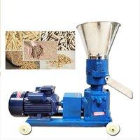 mit fräsmaschine groihandel-Neue art KL150 4kw futterpellet maschine hammermühle für familiengebrauch futterpellet maschine
