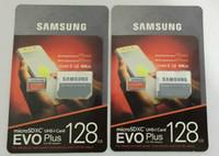 32gb micro s toptan satış-16G / 32GB / 64GB / 128GB / 256GB Samsung EVO + Plus micro sd kart U3 / akıllı telefon TF kartı C10 / Tablet PC SDXC Depolama kartı 95MB / S