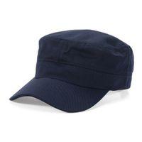ordu moda erkek kap toptan satış-Moda Erkekler Plaka Kap Klasik Tarzı Güneş Kremi Güneş Şapka Ordu Düz Şapkalar Caps