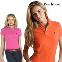 yarım kollu ince gömlekler toptan satış-Kısa kollu T-shirt kadın yaz elbise ince gömlek yaka T-shirt Kore versiyonu yaka polo gömlek yarım kollu moda giysileri