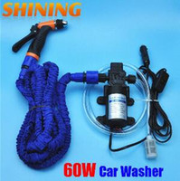 Wholesale portable high pressure car wash for sale - Group buy 2019 V Car Wash Device Car Washing Machine Cleaning Pump High Pressure Water Pump Washing Equipment Portable Washer Set