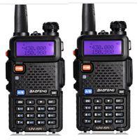 Wholesale professional handheld walkie talkie for sale - Group buy Walkie Talkie BaoFeng UV R Professional CB Radio Station VHF UHF Mhz Mhz Two way radio handheld Transceiver