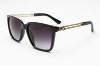 için menteşeler toptan satış-Marka Tasarımcısı Güneş Yüksek Kaliteli Metal Menteşe Güneş Erkekler Gözlük Kadınlar A6765 ile Güneş gözlükleri UV400 lens Unisex