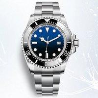 ingrosso il mare caldo dell'uomo-Orologio da uomo vendita calda 44mm SEA-DWELLER 126660 orologio automatico Lunetta in ceramica Orologi in acciaio inossidabile Chiusura a scatto scorrevole 2813 movimento mens orologi