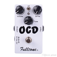 Wholesale multi effects pedal for guitar for sale - Group buy CLONE OCD Obsessive Compulsive Drive Overdrive Distortion Guitar Effect Pedal Two mode selection HI LOW And True Bypass