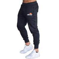calças de swat preto venda por atacado-2019 Novos corredores moletom Homens hip hop streetwear calças homens Algodão Casuais Calças Elásticas calças pantalon hombre