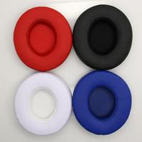 Wholesale headsets foam resale online - Replacement Headphone Ear Pads for Slo2 Slo3 Bluetooth Earphone Sponge Soft Foam Pads Headset Cover Accessories DHL