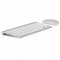 usb küçük klavye toptan satış-Ultra Ince Ofis Kablosuz Klavye Ve Fare Combo Az Gürültülü 2.4g Masaüstü Bilgisayar Için T190624 Taşınabilir Küçük Kablosuz Klavye Fare