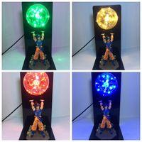 bilyalı ışıklı masa lambası toptan satış-Dragon Ball Action Figure Işık Son Goku Masa Lambası LED Göz Korumak Aydınlatmak Yaratıcı Anime 79zz F1
