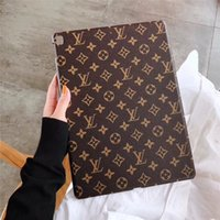 Wholesale tablet pc protective screen resale online - Classic Monogram Designer iPad Case Pu Tablet PC Cases For Apple iPad Pro quot quot Air quot Shockproof For iPad mini Back Cover
