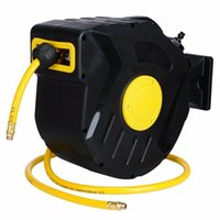 Wholesale air hoses resale online - 3 quot X retractable hose reel air compressor PSI tool automatically rewinding garage