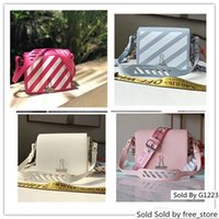 Wholesale baby blue handbags for sale - Group buy 19 Diagonal Baby Off Mini Flap Bag Woman Classic Bags Simple Small Square Pink Blue Red White Black Sculpture Handbag Size cm