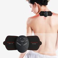 máquina de pulso de massagem venda por atacado-Máquina de Massagem Elétrica Estimulação Muscular Digital Ombro de Pulso Cervical Spine Massageador Corpo Tonificação Ferramenta de Fitness LLA474