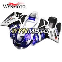 yamaha r1 black cowl achat en gros de-Nouveau Carénages vMotorcycle Pour Yamaha YZF 1000 R1 2000 2001 Capuchons moto ABS Injection plastique yzf 1000 r1 couvre Bleu Blanc Noir Capot