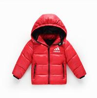 Wholesale girls cute down jackets for sale - Group buy 2019 New Baby Boys Girls Down Coats Parkas Jackets Children Down Jacket Kids Windbreaker Child Boy Girl Outwear cm Retail