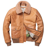 987f79e9e Wholesale Leather Flight Jacket - Buy Cheap Leather Flight Jacket ...