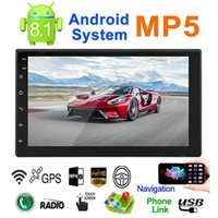 Wholesale wifi enabled car radio for sale - Group buy New Vehicle MP5 G UNIVERSAL quot GPS DIN Android Player Radio Car x WIFI G G IK6 Bluetooth Car Video