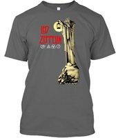 indie rock shirts großhandel-Offizielles geführtes Zeppelin-Einsiedler-T-Shirt Treppenhaus zum Himmel Einsiedler-Punkrock-Indie-T-Shirt Fashiont-Hemd Freies Verschiffen-grundlegende Modelle J190525