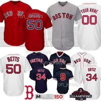 camiseta de béisbol 15 al por mayor-venta caliente 25 Steve Pearce requisitos particulares de los jerseys de béisbol Boston 24 David Precio 15 Dustin Pedroia 11 Rafael Devers Nueva venta caliente