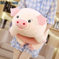 Wholesale chinese girls toys resale online - 50 cm Cute Pink Pig Plush Toys for Children Chinese Zodiac Pig Doll Soft Fat Pig Pillow Cushion Kids Girls Birthday Gifts