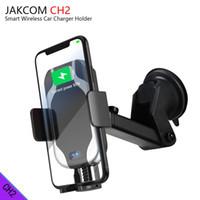 bisikletli araba monte etmek toptan satış-JAKCOM CH2 Akıllı Kablosuz Araç Şarj Montaj Tutucu Sıcak Satış cep telefonu Mounts Tutucular olarak ev meetone kontakt lens yağ ...