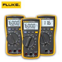 dc akım multimetresi toptan satış-Fluke 107 Palm boyutlu taşınabilir el Dijital Multimetre AC DC Akım Dijital Multimetre