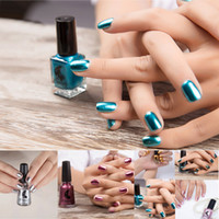 Wholesale nail art drop shipping resale online - OutTop Women Girl Nail Polish Plating Silver Paste Metal Color Beauty For Nail Art Of Party And Normal Sep28 Drop Ship