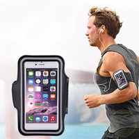 Wholesale gym cell phone holder resale online - Running bags Sports Exercise Running Gym Armband Pouch Holder Case Bag for Cell Phone