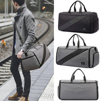 Wholesale suitcase for sale - Outdoor Men Traveling Handbag Tote Duffel Luggage Garment Carrier Sport Gym Bag