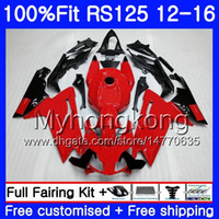 Wholesale 125 kit online - Injection OEM For Aprilia RS RS125RR RS4 HM RSV125 RS RS125 Fairing kit top Glossy red