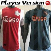 ev oyuncusu toptan satış-Oyuncu Versiyonu Ajax home Futbol Formaları 2019/2020 # 7 NERES Ajax Futbol formaları uzakta # 10 TADIC # 4 DE LIGT # 22 ZIYECH futbol formaları