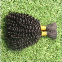 gevşek atkı saç uzantısı toptan satış-Saf Renk 6a Brezilyalı Gevşek Dalga Saç Toplu Uzantıları Ucuz 100g 100% İnsan Saç Toplu Saç Örgü Için Hiçbir atkı
