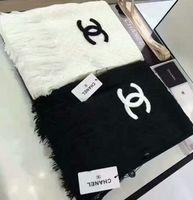 women s wool scarf venda por atacado-Atacado marca cachecol de lã moda masculina e xales femininos de algodão colorido fio-xailes xales xales bordados clássicos
