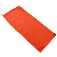 Wholesale fleece bag liner resale online - Single Side Fleece Sleeping Bag Portable Outdoor Camping Sleeping Bag Ultralight Liner Camping