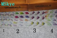 pegatinas de mariposa de cristal al por mayor-MSkye DIY cristal gota pegamento material transparente etiqueta mariposa ala cristal gota gota pegamento relleno