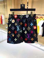 imprimir shorts de baño al por mayor-Venta al por mayor Shorts de moda de verano Nuevo diseñador Junta corta Secado rápido SwimWear Printing Board Beach Pantalones Hombres Hombres Swim Shorts QBQ