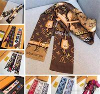 ingrosso seta seta-Sciarpa della fascia delle donne calde Sciarpa classica 100% delle sciarpe di seta di modo Sciarpe di alta qualità della sciarpa della testa di alta qualità Trasporto di goccia