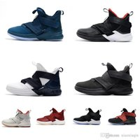 Women lebron soldier 12 shoes for sale Bred Olympic Gold USA Red Boys Girls  Youth Kids soldiers 10 XII elite outdoor sneakers boots with box 7881a69a01